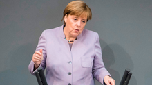 Angela Merkel said the 'shared space' between the UK and Ireland needed to be held together