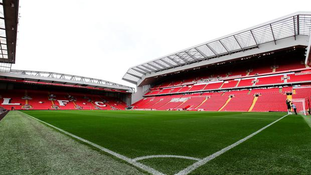 General view during the opening event of the Anfield Home of Liverpool Main Stand, at Anfield on September 9, 2016 in Liverpool, England. (Photo by Barrington Coombs/Getty Images)
