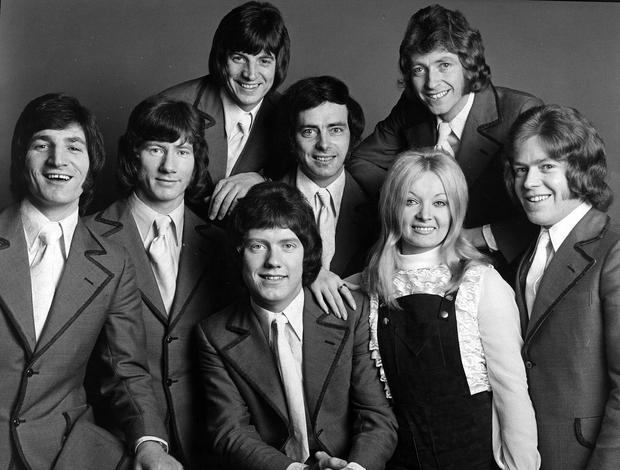 The Nevada Showband, featuring the vivacious Kelley.  22/2/1973
