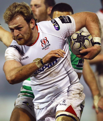 Impact: Lorcan Dow impressed during his debut for Ulster