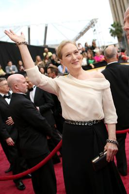 HOLLYWOOD, CA - MARCH 02:  Actress Meryl Streep attends the Oscars held at Hollywood & Highland Center on March 2, 2014 in Hollywood, California.  (Photo by Christopher Polk/Getty Images)