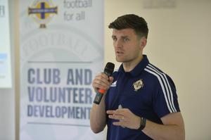 Diarmuid O'Carroll previously worked in the Irish FA's coach education department as a club and community development officer.