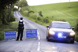 An 18-year-old man has died in a two-vehicle collision near Killyleagh in County Down. Pic: C.A Kinahan/PACEMAKER PRESS