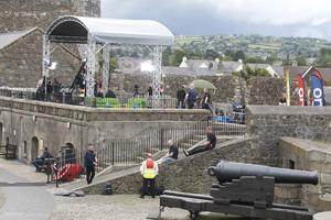 The One show set on at Carrickfergus Castle. Pic by Peter Morrison
