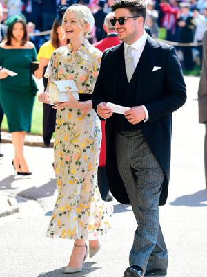 Marcus Mumford and Carey Mulligan arrive at St George's Chapel at Windsor Castle for the wedding of Meghan Markle and Prince Harry. PRESS ASSOCIATION Photo. Picture date: Saturday May 19, 2018. See PA story ROYAL Wedding. Photo credit should read: Ian West/PA Wire