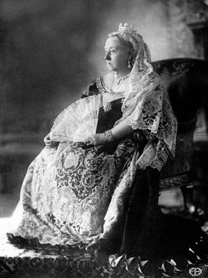 File photo dated 01/01/1897 of Queen Victoria's Diamond Jubilee photographic portrait, as Elizabeth II will be the first British monarch to reach their 90th birthday. PRESS ASSOCIATION Photo. Issue date: Sunday April 3, 2016. She is the country's oldest ever sovereign - although is not thought to be keen on being reminded of this - and also the oldest monarch in the world. The Queen is some way ahead of her great-great-grandmother Victoria and her ancestor George III in the age stakes - they were both 81 when they died. See PA story ROYAL Birthday Queen. Photo credit should read: PA Wire