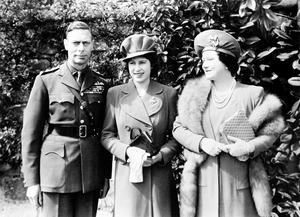 File photo dated 01/04/44 of Queen Elizabeth (now the Queen Mother) and King George VI with their daughter Princess Elizabeth (now Queen Elizabeth II) shortly before her 18th birthday, as the Queen's birthday celebrations over the past 90 years have ranged from a quiet morning ride with her children at Windsor to a grand birthday ball for 500 guests. PRESS ASSOCIATION Photo. Issue date: Sunday April 3, 2016. Her 40th birthday coincided with the State Opening of Parliament and her 80th was a busy affair including a walkabout, an intimate family dinner followed by fireworks, and a special tribute from the Prince of Wales broadcast to the nation. The monarch celebrates two birthdays each year: her actual one on April 21, as well as her official one on a Saturday in June marked by the Trooping the Colour parade. See PA story ROYAL Birthday Past. Photo credit should read: PA Wire