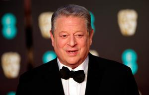 Al Gore attending the EE British Academy Film Awards held at the Royal Albert Hall, Kensington Gore, Kensington, London. PRESS ASSOCIATION Photo. Picture date: Sunday February 18, 2018. See PA Story SHOWBIZ Bafta. Photo credit should read: Yui Mok/PA Wire.