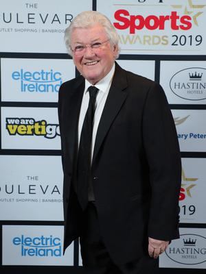 Press Eye - Belfast - Northern Ireland - 20th January  2020   Jackie Fullerton pictured at the 2019 Belfast Telegraph Sport Awards at the Crowne Plaza Hotel in Belfast.  Photo by Kelvin Boyes / Press Eye.