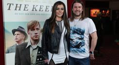 Press Eye - Belfast - Northern Ireland - 1st April 2019 - Yasmin Doyle and Jonathan Riddell pictured at the Northern Ireland Premiere screening of The Keeper, in cinemas from 5th April, supported by Northern Ireland Screen The premiere took place at the Movie House, Dublin Road, Belfast. Photo by Kelvin Boyes / Press Eye