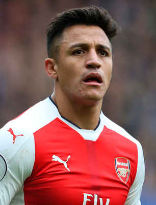 Arsenal's Alexis Sanchez. Photo: PA