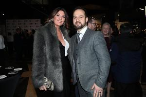 Press Eye - Belfast - Northern Ireland - 31st January 2019 -   Guests arrive on the red carpet as Tourism NI marked the start of the official build up to The 148th Open at Royal Portrush with a celebration of Northern Irish talent from sport, music, arts and screen at Titanic Belfast this evening. Pictured are Martin and Danielle Stalker.   Visit https://youtu.be/KPPKRrsR-js to watch the cinematic film ÔWeÕve come a long wayÕ which was premiered on the night.    Photo by Kelvin Boyes / Press Eye.