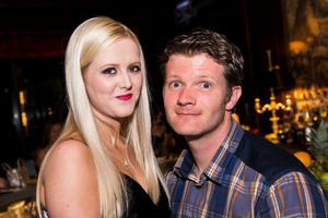 Berts bar Belfast:  Aisling Helm and CIaran Tipping