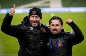 Filippo Giovagnoli and Giuseppe Rossi were appointed by Dundalk in August to a sceptical response but just a month later, led the club to the Europa League group stage.