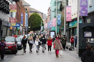 Shoppers flocked to Belfast after more retailers were given the green light to reopen last week.