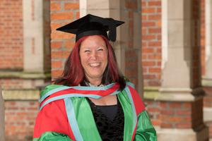 Professor Lesley Yellowlees MBE, CBE, has received an honorary degree for services to science from Queen's University Belfast