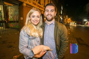 People out in Belfast for Culture Night. Friday 22nd September 2017. Liam McBurney/RAZORPIX