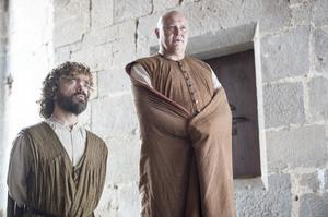 Peter Dinklage as Tyrion Lannister and Conleth Hill as Varys – photo Macall B. Polay/HBO