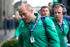EDINBURGH, SCOTLAND - FEBRUARY 04: Rory Best of Ireland arrives prior to the RBS 6 Nations match between Scotland and Ireland at Murrayfield Stadium on February 4, 2017 in Edinburgh, Scotland. (Photo by Ian MacNicol/Getty Images)