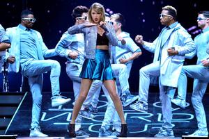 Taylor Swift performs live on stage during 'The 1989 World Tour' night 2 at Lanxess Arena on June 20, 2015 in Cologne, Germany.  (Photo by Sascha Steinbach/Getty Images for TAS)