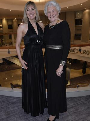 Press Eye - Belfast - Northern Ireland - 20th January  2020  Gillian Hetherington and Lady Mary Peters pictured at the 2019 Belfast Telegraph Sport Awards at the Crowne Plaza Hotel in Belfast. Photo by Stephen Hamilton / Press Eye.
