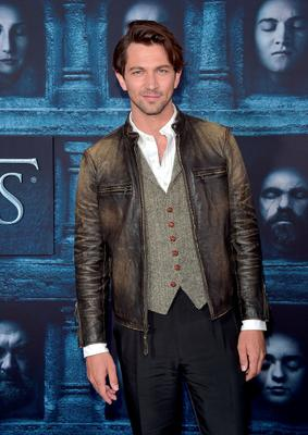 """HOLLYWOOD, CALIFORNIA - APRIL 10:  Actor Michiel Huisman attends the premiere of HBO's """"Game Of Thrones"""" Season 6 at TCL Chinese Theatre on April 10, 2016 in Hollywood, California.  (Photo by Alberto E. Rodriguez/Getty Images)"""