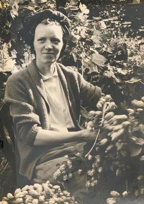June Harvey was said to have been a keen gardener (Family handout/PA)