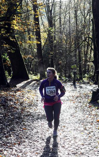 Mandatory Credit - Picture by Freddie Parkinson/Press Eye © Saturday 19th November 2016 Belfast Telegraph Run Forest Run Drum Manor Forest Park, Drum Road, Cookstown BT80 9RT Gabby Gardiner