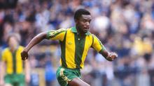 Stunning retribution: Laurie Cunningham made United pay for their fans' racist chants