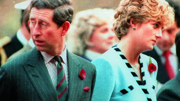 Charles and Diana before their divorce (PA)