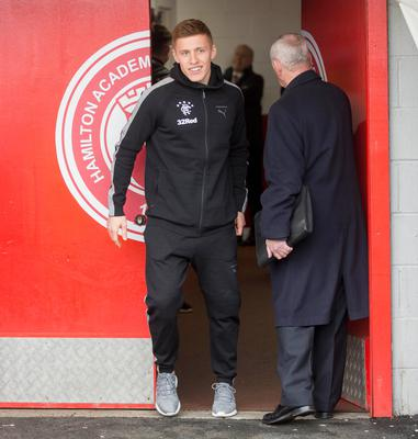 Aiming high: Greg Docherty is keen to impress at Rangers