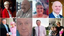 The faces of just some of the Northern Ireland people who have fallen victim to the deadly coronavirus