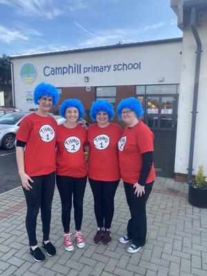 4 staff members from Camphill PS