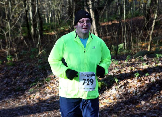 Mandatory Credit - Picture by Freddie Parkinson/Press Eye © Saturday 19th November 2016 Belfast Telegraph Run Forest Run Drum Manor Forest Park, Drum Road, Cookstown BT80 9RT Trevor Allen from Cookstown