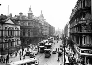 Royal Avenue, Belfast, from Castle Place looking towards North Street (from first floor level.) 19/5/1936
