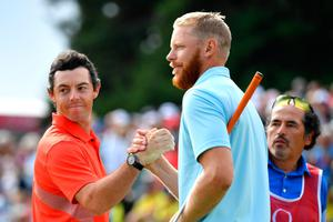 Rory McIlroy lost out to Sebastien Soderberg in Switzerland.