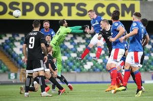 Linfield have fond memories of playing at home in the Europa League, as evidenced by their win over Qarabag last year