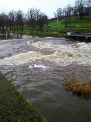 The swell on the Lagan