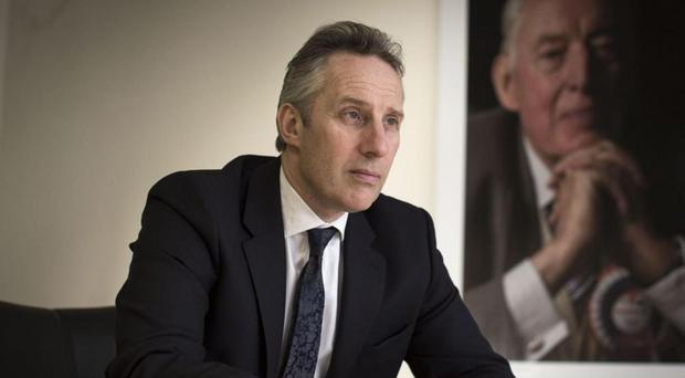 Ian Paisley Jnr, whose father founded the DUP in 1971, says, 'everybody hates us but we've got the cash' [Photo: Marc McKormick, www.independent.co.uk]