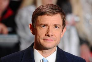 """Martin Freeman attends the World Premiere of """"The Hobbit: The Battle OF The Five Armies"""" at Odeon Leicester Square on December 1, 2014 in London, England.  (Photo by Stuart C. Wilson/Getty Images)"""