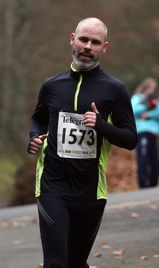 Mandatory Credit - Picture by Freddie Parkinson/Press Eye © Saturday 3rd December 2016 Belfast Telegraph Run Forest Run Loughgall. Loughgall Country Park, 11-14 Main Street, Loughgall, Armagh.  Paul TAGGART 10K Crumlin