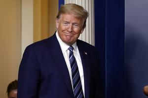 President Donald Trump pledged to sign the package into law (Alex Brandon/AP)
