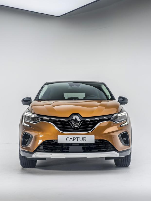 The new Renault Captur.