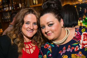 Martina Donaghy and Martine Cahill at The Cloth Ear, Belfast