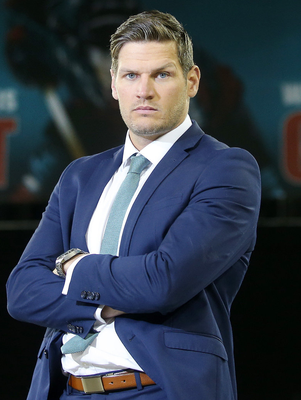Raring to go: Adam Keefe is in contract talks with a forward. Photo: Jonathan Porter/Presse