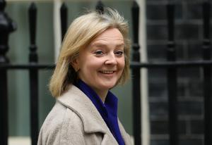 International Trade Secretary Liz Truss said she wants British expertise used in African projects (Aaron Chown / PA)