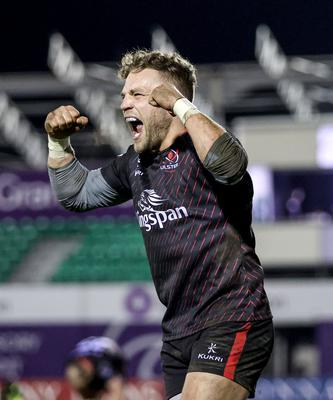 Ian Madigan was on form off the tee at the Sportsground.