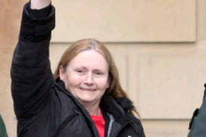 IRA Old Bailey bomber Marian Price had been detained for more than two years since former Northern Ireland secretary of state Owen Paterson revoked her licence. Pic 16/5/2011