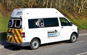 The officers were caught automatically by speed vans before the PSNI decides to pursue a prosecution.