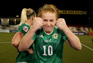 Rachel Furness scored the only goal of the game in Belarus last month and again came up with a goods at Seaview.